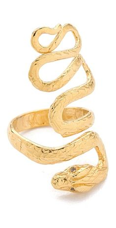 Jacquie Aiche snake ring