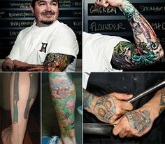 Sean Broch's awesome vegetable garden sleeve - Who's the artist?