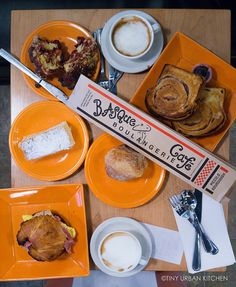 carbo-loading at the Basque Boulangerie Cafe on the Sonoma Plaza