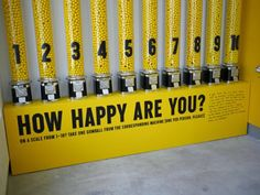 Stefan Sagmeister   The Happy Show Exhibition | ICA Philadelphia