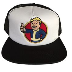 Fallout Vault Boy Embroidered Baseball Cap Trucker Hat New With Tags  Bethesda  Bethesda  BaseballCap b23e6aaae0d6
