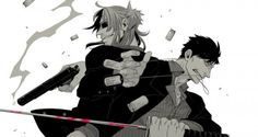 Gangsta-manga-faco by hurtingknight.deviantart.com on @DeviantArt