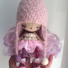 ove my newest cutie ❤️ #dollyworld #crochetdolls #crochetdoll #cottonyarn #cottontoys #cottondolls #ooak #ooakdolls #handmade