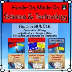 Grade 5 Science and Technology Centres Bundle (Ontario Curriculum) his Grade 5…
