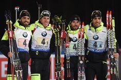 International Biathlon Union / Germany Men Take Relay, Matching the Women