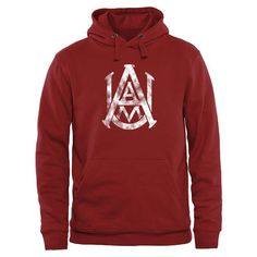 Alabama A&M Bulldogs Classic Primary Pullover Hoodie - Cardinal
