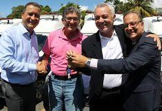 NONATO NOTÍCIAS: Rui entrega 78 novas ambulâncias para municípios b...