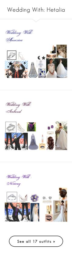 """Wedding With: Hetalia"" by xxtoo-happy-to-be-emoxx ❤ liked on Polyvore featuring 3M, Steve Madden, Guerlain, Heidi Klum Intimates, Badgley Mischka, Rimmel, Kevin Jewelers, Belk & Co., SJP and J.Crew"