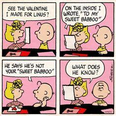Sally and Charlie Brown
