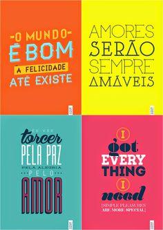 CONCEITO GAYA: Posters para imprimir e enquadrar!