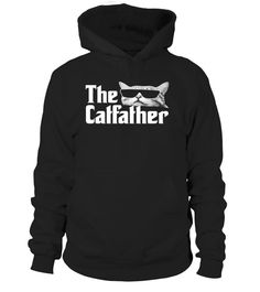 The Catfather Funny Gif for Cat Dadd T Shirt