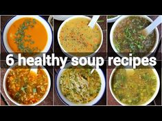 best healthy soup recipes for better immunes Creamy Soup Recipes, Cabbage Soup Recipes, Vegetable Soup Recipes, Best Healthy Soup Recipe, Ginger Soup Recipe, Healthy Food, Healthy Soups, Mix Veg Soup, Lemon Coriander Soup