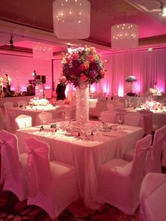 Gorgeous! All-Out Wedding Decor by Table 6 Productions in Denver and their vendors (at the Ritz Carlton, Downtown Denver)