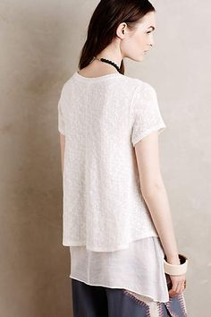 Layered Faria Top - anthropologie.com #anthrofave