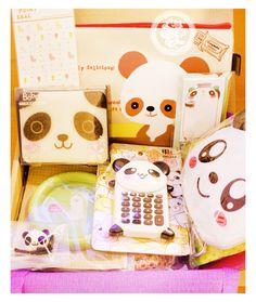 Les pandas sont touuujouuurrs nos chouchoux ^O^ !! (PS. La calculatrice Panda est de retoure en stock   http://www.chezfee.com/papeterie-kawaii/calculatrice-kawaii)  - boutique kawaii chezfee.com