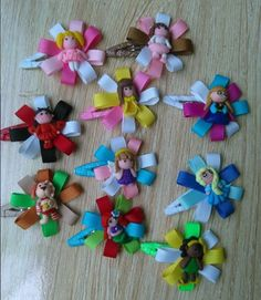 6Pc Boutique Hair Clip Bows Lady Girls by DreamyAccessoriesUSA