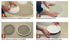 Great No Cost slab Ceramics student Popular Pick up variations on classic handbuilding techniques in Five Great Handbuilding Techniques. Pottery Pots, Slab Pottery, Ceramic Pottery, Thrown Pottery, Pottery Wheel, Ceramic Techniques, Pottery Techniques, Beginner Pottery, Clay Plates