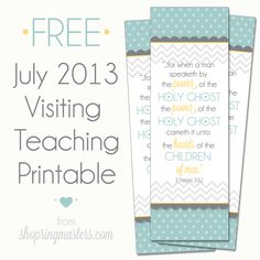 Visiting Teaching Messages and more