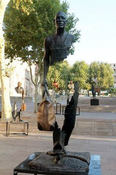 The Bronze Sculptures Of Bruno Catalano Are Not All There   S.O.M.F