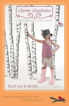 Clever Charlotte sewing patterns for girls.