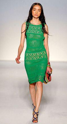 Как выбрать летнее вязанное платье