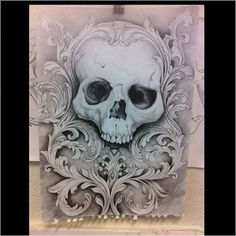 But with a more elegant skull