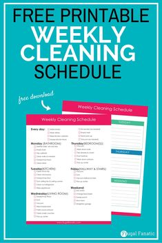 Weekly Cleaning Schedule (1) copy