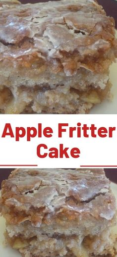 Easy Apple Fritter Cake Dang was this recipe was an evolution I just set out to adapt a recipe that used cake mix but make it without cake mix I did it the cake part itse. Apple Fritter Cake, Apple Fritters, Cake Mix Recipes, Baking Recipes, Apple Recipes Easy, Apple Dessert Recipes, Bread Recipes, Food Cakes, Cupcake Cakes