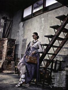 Seoul. Vogue Korea Agosto 2013