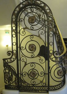 Cool door at Crowne Plaza Republique in Paris
