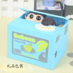 Useless Box Practical Jokes Funny Toys For Kids Adults Creative Waste Time Geek Gadget gags automatically Piggy Bank Cartoon cat
