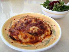Berenjenas a la napolitana y a la parmesana