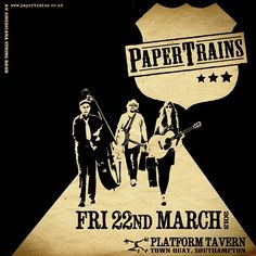 Why not kick this weekend off with a gut-bustin' eve of finger-lickin' Americana grooves at Platform Tavern (Soton). We'll be stompin' live from 9pm this Fri (22nd). Free entry x
