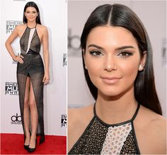Kendall Jenner in Yigal Azrouël Spring/Summer 2014 and Jean-Michel Cazabat shoes – 2014 American Music Awards #AMAs