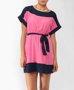 Colorblocked Pocket Dress | FOREVER21