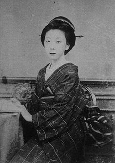 お龍、坂本龍馬の妻(楢崎龍)Ryouma Sakamoto's wife