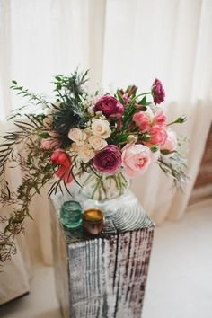 24 Jewel-Toned Wedding Centerpieces That Will Dazzle Your Guests - weddingtopia Jewel Tone Wedding, Floral Wedding, Wedding Colors, Wedding Flowers, Ceremony Decorations, Wedding Centerpieces, Wedding Bouquets, Centrepieces, Table Decorations