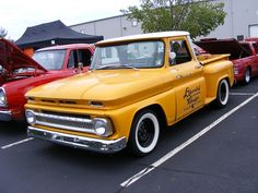 A cool classic Chevy Truck from the Eastwood Summer Classic 2012