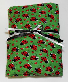Crib or Toddler Bed Fitted Sheet Ladybugs Toddler by KidsSheets
