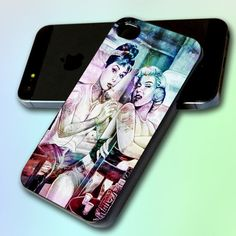 Audrey Hepburn and Marilyn Monroe Tattooed by by GreatCover, $14.50