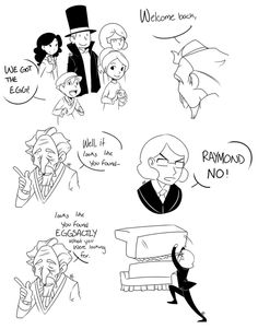 This is the best ever <<< Sycamore: RAMOND! The stupid puns are MY field!