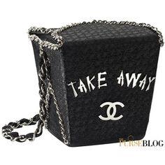 Chanel Take Away Box Bag PurseBlog