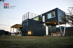 Casa contenedor: una solución economica y moderna (de Antonia T)