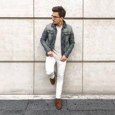 #ootd #ootdmen #street #streetstyle #stylemen #look #style #fashion #fashionista #men #menswear #menstyle #mensstyle #menfashion #mensfashion #mensfashionpost #simplefits #instafashion #supreme #moda #instadaily #fashionpost #jacket #denimjacket #whitedenim #white #whitejeans #zara #chelseaboots #allsaints