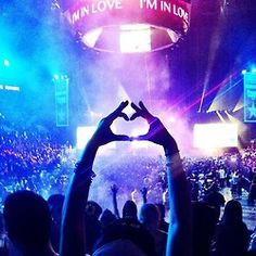 I'm in love.... shot of Kaskade's legendary performance at sold out Staples Center, Los Angeles, CA July 2012