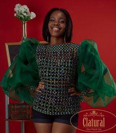 African Tops, African Style, African Women, African Fashion, Women's Fashion, Dress Skirt, Peplum Dress, African Wear Dresses, Ankara Blouse