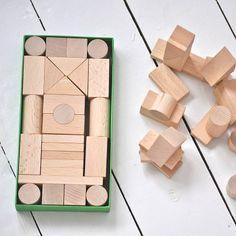 handmade wooden blocks by sarah & bendrix   notonthehighstreet.com