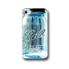 This is all i want for my birthday...  Ball Mason Jar iPhone Case Mason by ShadetreePhotography, $32.00