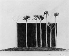 David Hockney / Bank, Palm Springs, 1968
