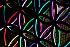 Flower of Life	 	   	 	 	 	 		 	 	   Project details   Year: 2009   Maasland Hospital, Sittard The Netherlands 2009   Mobile 6 x 6 meter   Materials: LED, aluminium, and acrylics   The light comes from 19 circles, and the ornament can vary in many different patterns.